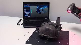 3D Scanning Classic Car Components