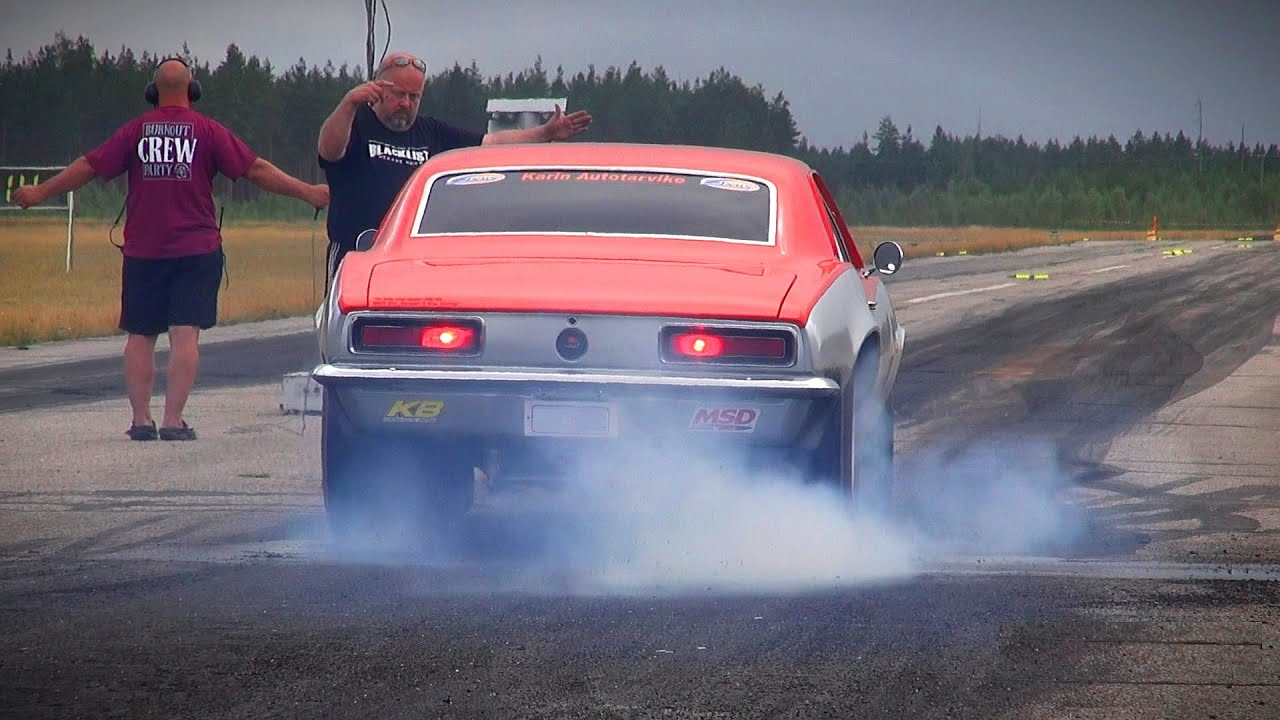 Blacklist Camaro Ss  Cid Drag Racing Burnout Loud Sound