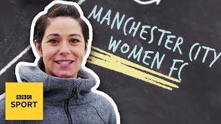 Man City Women: Football Focus goes training with MCFC's Steph Houghton & Jill Scott - BBC Sport