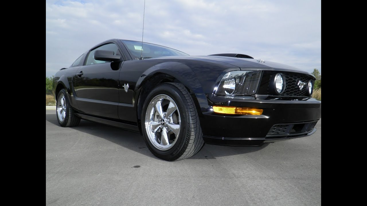 Sold 2009 ford mustang gt premium coupe 25k 5spd black 4 sale wilsoncountymotors com tn