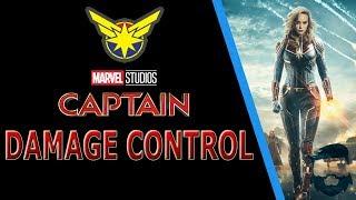 "Captain Marvel DAMAGE CONTROL & ""Disturbing"" Comments Exposed"