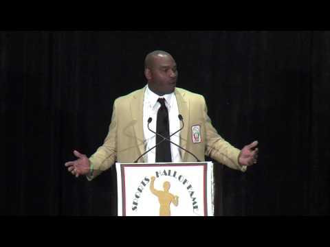 Darryl Williams acceptance speech - UM Sports Hall of Fame