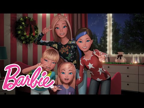 Jingle Bells A Cappella Sing-along with My Sisters! | Barbie Vlog | Episode 28