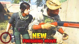 NEW OPERATOR EXECUTION in Modern Warfare! (MW Mara Finishing Move)