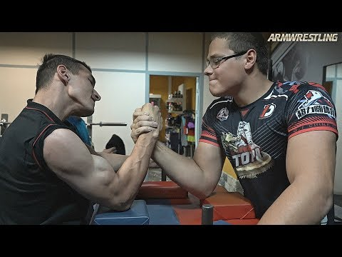 Arm Wrestling Training & Sparring  In Russia 2019