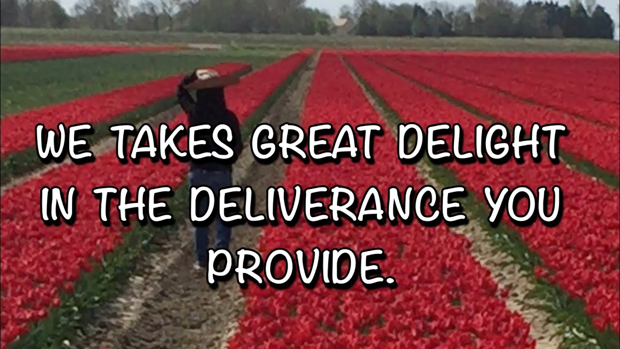 WE TAKES GREAT DELIGHT IN THE DELIVERANCE YOU PROVIDE/PSALM 21/FILIPINA BISAYA NETHERLAND