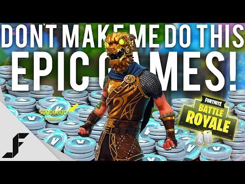 DON'T MAKE ME DO THIS EPIC GAMES - Fortnite Battle Royale