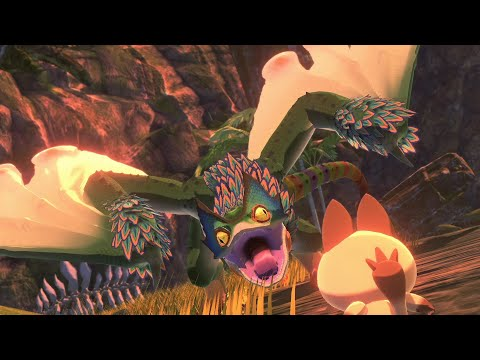 Monster Hunter Stories 2  PukeiPukei Boss Fight