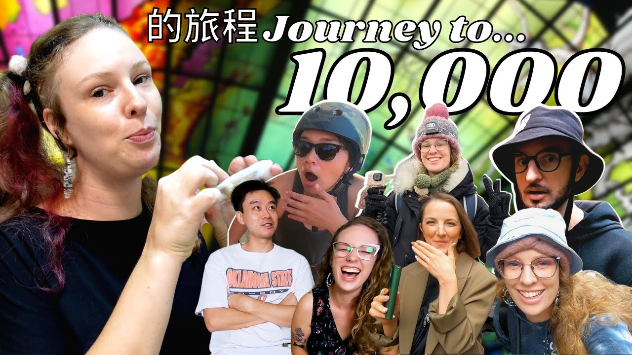 From 0 To 10K Subscribers 🇹🇼 16 Months Of Videos In Taiwan