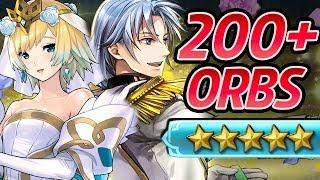 Fire Emblem Heroes - 200+ Orbs Summons: Bride Fjorm, Groom Pent, Bride Tanith & Sigurn [FEH]