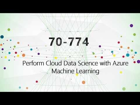 [100% pass] CertTree MCSA: Machine Learning 70-774 practice test, Microsoft 70-774 exam dumps