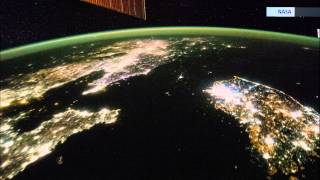The Difference Between North and South Korea...From Space.