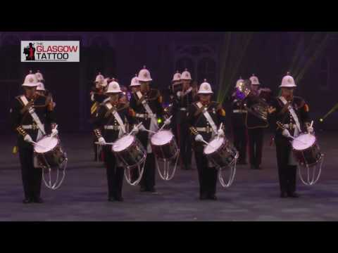 HM Royal Marines Band at the Glasgow Tattoo 2017