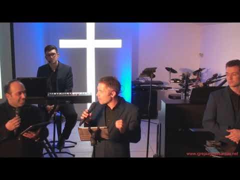 Mensagem e convite à Salvação grupo VineSong na igreja evangélica de Águas Santas 8-3-2019