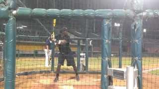 Charles Whitley Jr Class of 2015 Baseball Prospect Hitting cam…