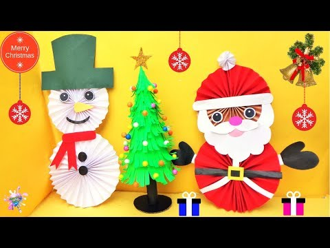 3 Amazing Last Minute Christmas Paper Crafts/ DIY Christmas Room Decor ideas