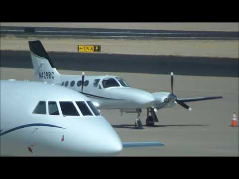 Aircraft Spot & Tour: MAF - Part 1; United Ex, Private Jet & Prop