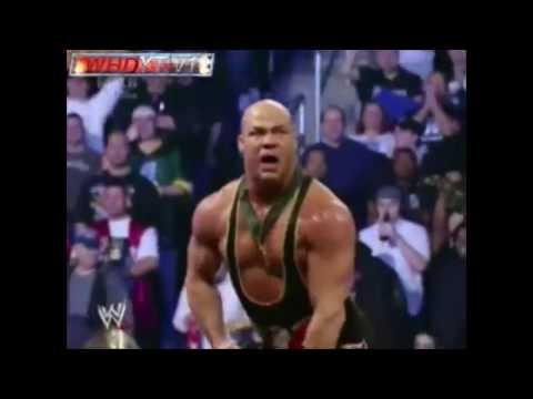 Intense Kurt Angle Entrance The Wrestling Machine 2006