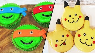 Step Up Your Dessert Game By These Amazing Recipes | Pokemon Macarons & More | Cartoon Recipe