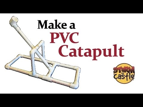 how to make a pvc catapult youtube. Black Bedroom Furniture Sets. Home Design Ideas
