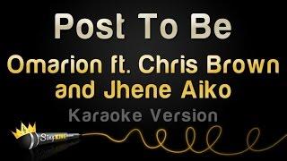omarion ft chris brown jhene aiko post to be karaoke version