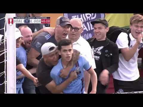 NYCFC Vs. North Carolina FC | HIGHLIGHTS - June 12, 2019