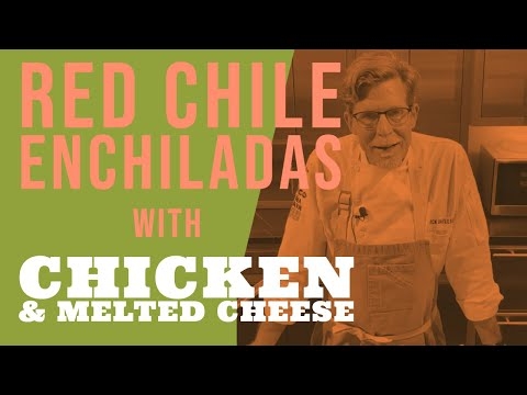 * My Last Daily Recipe Video (For Now) * Red Chile Enchiladas With Chicken & Melted Cheese