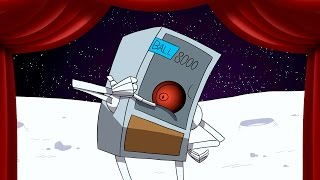 FIX THE MOON! (Video Game Time: Moonbase Alpha Funny Moments Animated) thumbnail