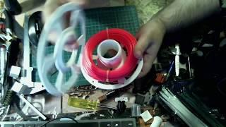 Катушка для пробников пластика для 3D принтера