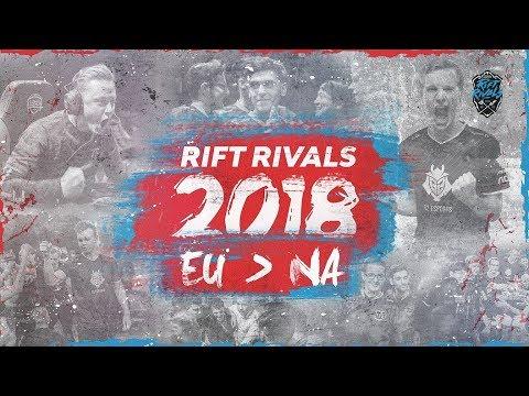 Rift Rivals 2018: EU vs NA