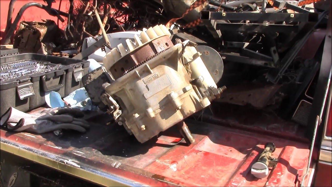 Ripping Into A Honda Harmony Engine