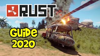 RUST Guide 2020! (Beginner Tutorial, Guide for Noobs, PC & Console, PS4 & Xbox One)