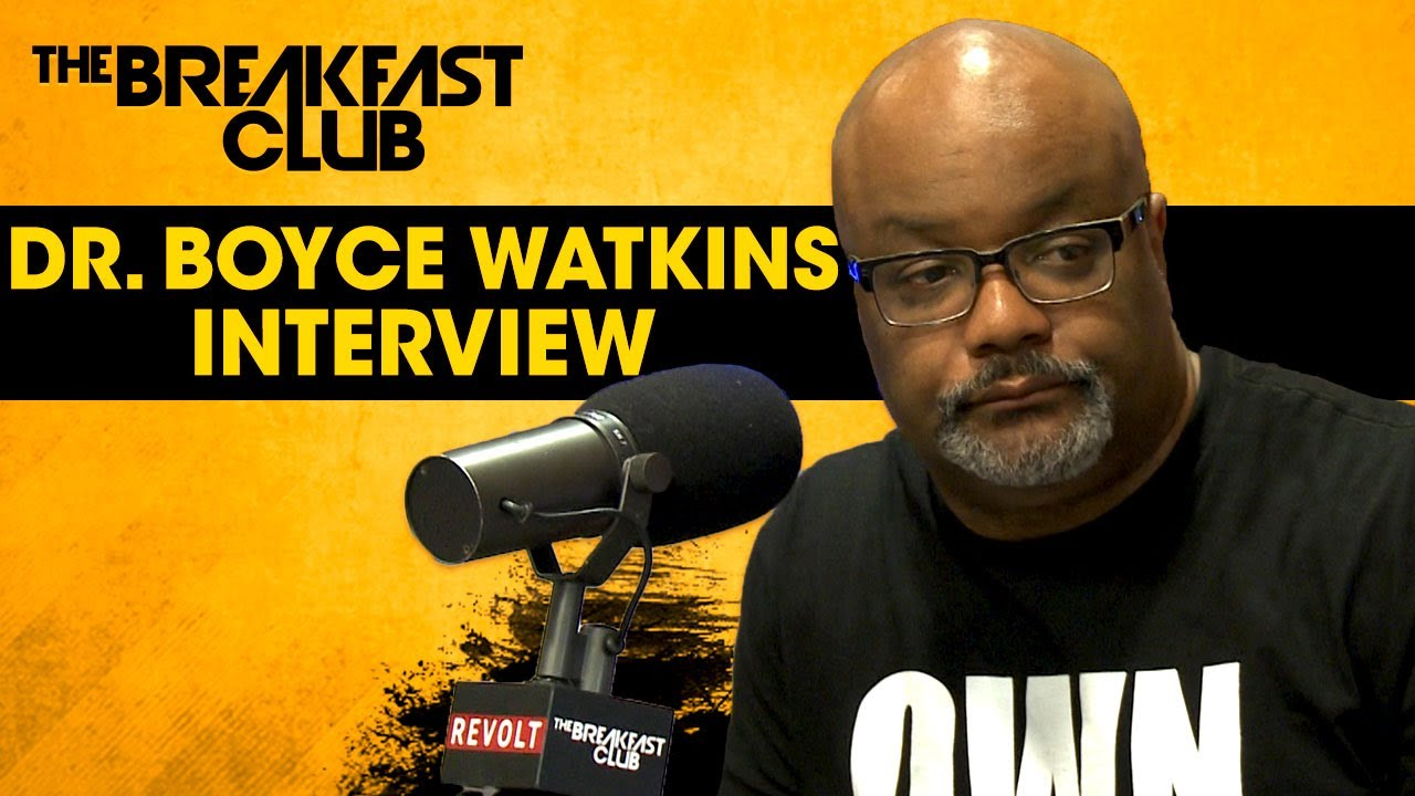 Dr. Boyce Watkins Talks The Importance of Black Ownership, Life Insurance & The Stock Market