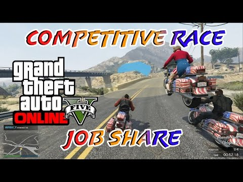 A Sovereign Tour of the Lake - GTA Online Gameplay - Competitive Race And Job Share #3