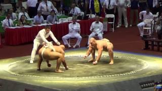 Сумо.Чемпионат мира по Сумо 2014 (Byamba vs. Orlov)