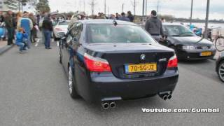 bmw e60 m5 w eisenmann exhaust system very loud