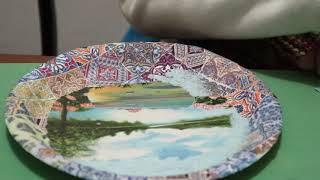 Artesanato com Pratinho Reciclável