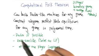Computational Folk Theorem - Georgia Tech - Machine Learning