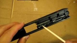 Ruger sr9 striker / firing pin take down