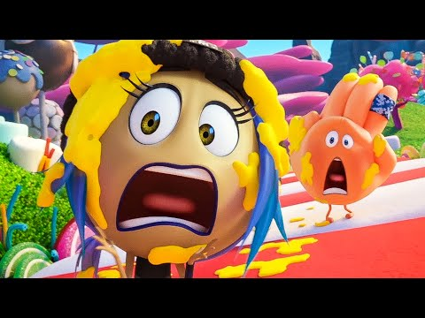 THE EMOJI MOVIE 'Candy Crush' Movie Clip + Trailer (2017)