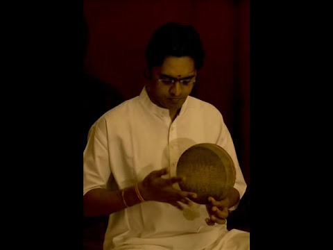 'Khanjira Maestro' Bangalore Sri Amrit {Kanjira} ... A Short Solo in Mishra Chapu.