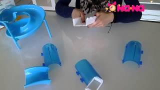 Видеообзор Игровой набор для хомячка Жу-Жу Петс (Туннель с винтовой горкой)