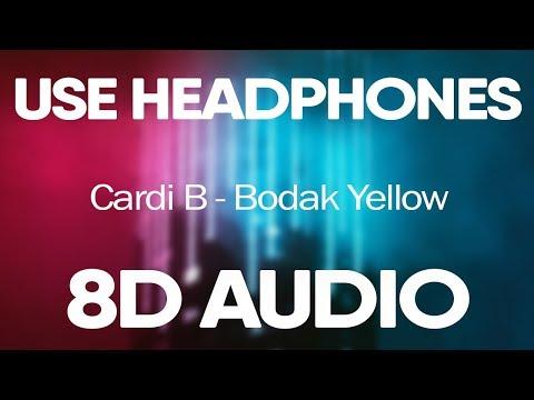 Cardi B – Bodak Yellow (8D Audio)