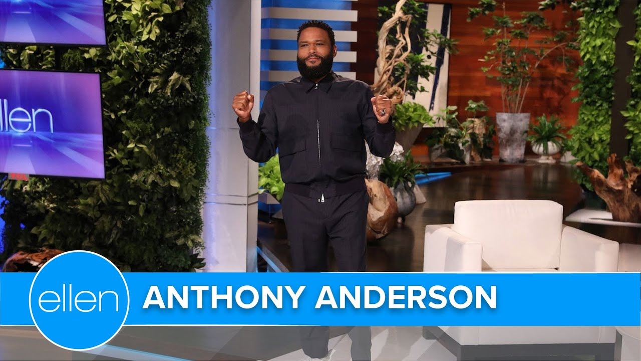 Anthony Anderson's First Monologue-ish