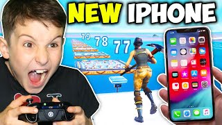 9 YR OLD GETS IPHONE X IF BEATS DEATHRUN!!!!