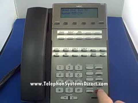 nec dsx 22b speed dial youtube rh youtube com nec model dsx 34b bl manual DSX 34B User Guide