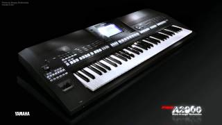 Yamaha PSR-A2000 Official internal demo