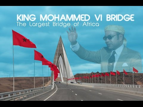maroc rabat sale Mohammed VI Bridge