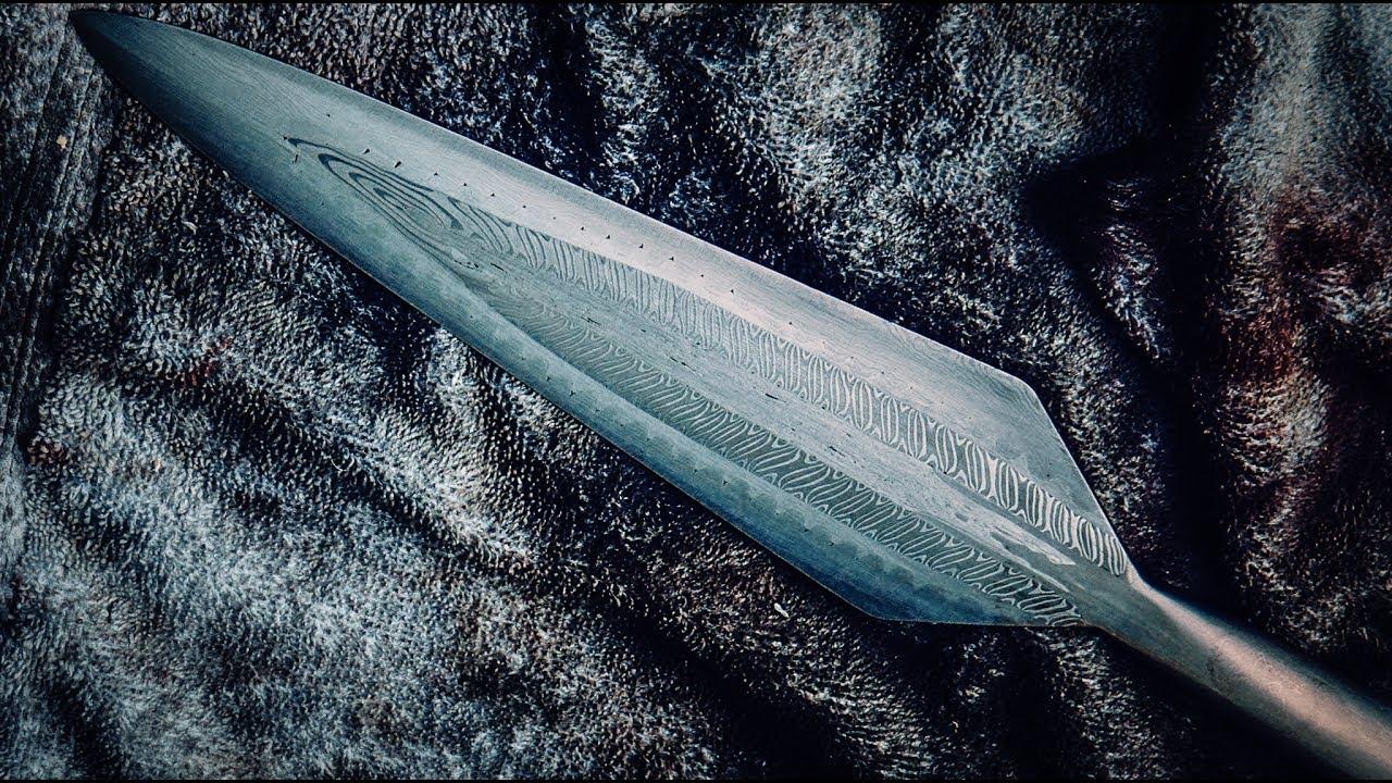 The Secret of Making a Pattern-Welded Viking Spear