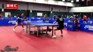 2014/15 China Trials for WTTC 53rd: XU Xin - ZHOU Yu [Full Match|Short Form/720p]